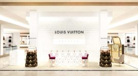 Открытие парфюмерного корнера Louis Vuitton