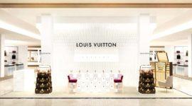 Открытие парфюмерного корнера Louis Vuitton