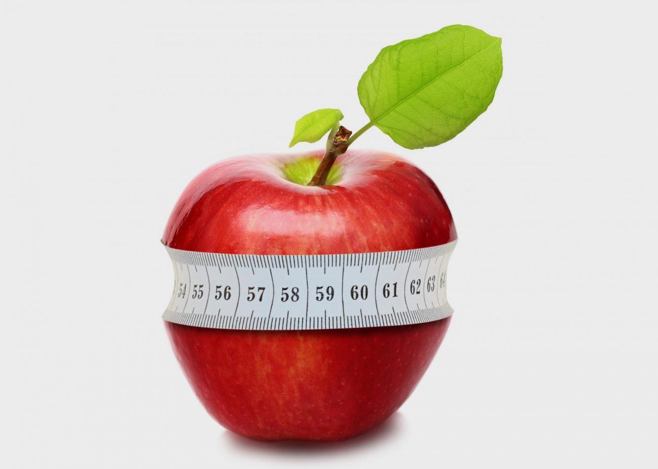 Яблоко, клипарт, похудей