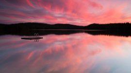 Сбывшиеся детские мечты — розовое озеро