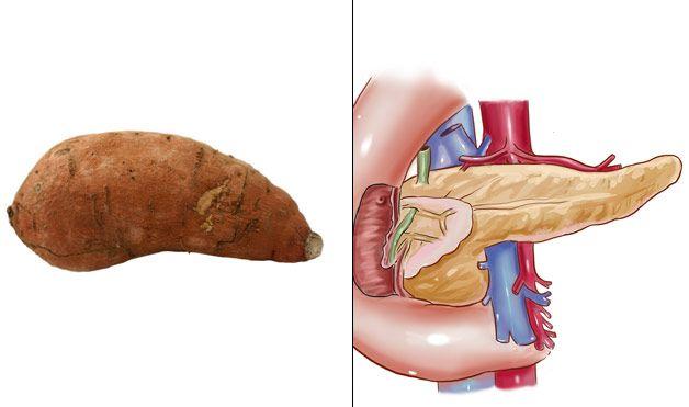 Батат - Поджелудочная железа
