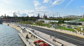 Парк «Зарядье»: прогресс у стен Кремля