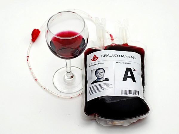 Красное вино - Кровь