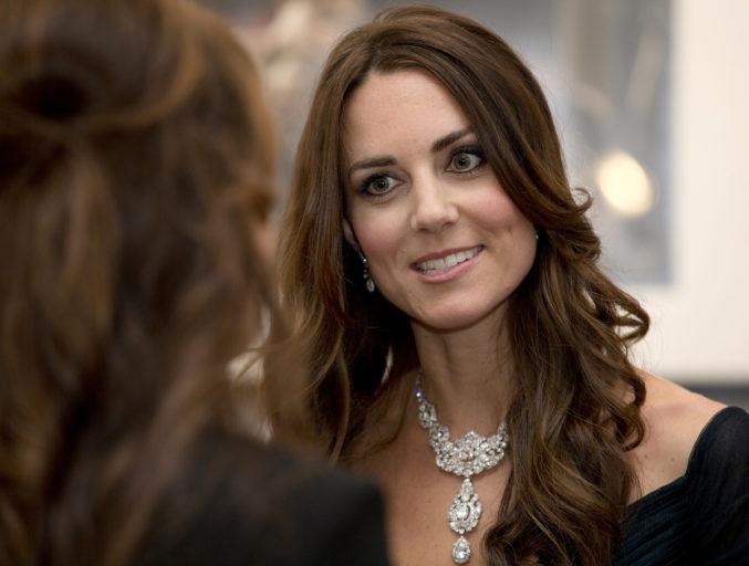 По-королевски: Кейт Миддлтон организует приём на Неделе моды в Лондоне