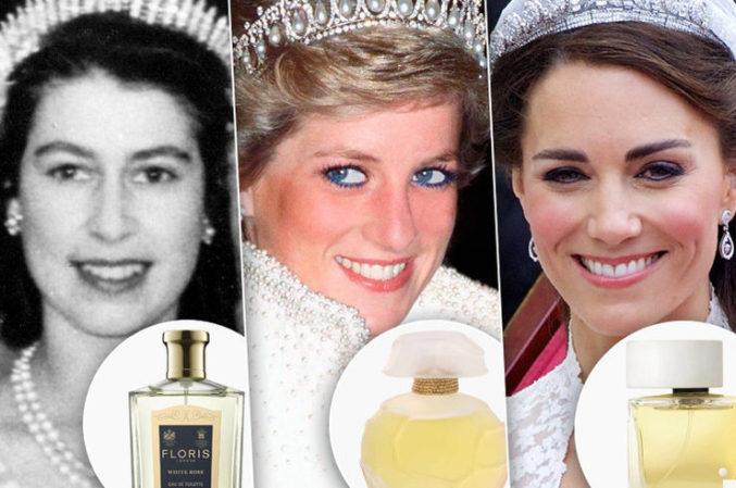 Свадебный аромат: выбор королевских особ