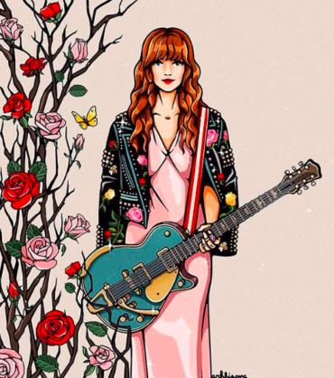 Расцветай! Иллюстрации Дины Архиповой, создательницы проекта Girls in Bloom