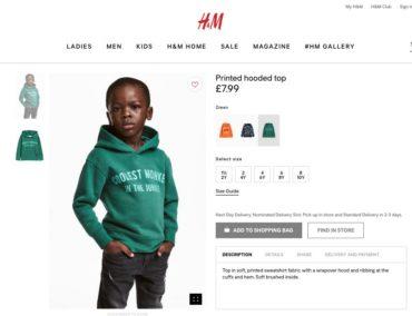 Месть: активисты разгромили магазины H&M из-за расистской толстовки