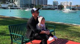 Сергей Лазарев с сыном: гордый отец делится снимками