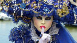 Кто ты, маска? Маскарадные костюмы на карнавале в Венеции