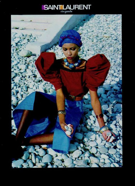 Амалия Варелли (Amalia Varelli) для Yves Saint Laurent Rive Gauche
