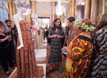 Кейт Миддлтон организовала прием во дворце в честь Недели Моды