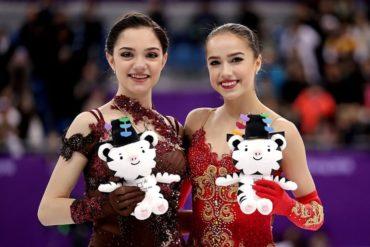 Алина Загитова заняла первое место на Олимпиаде в Пхенчхане. Медведева — вторая!