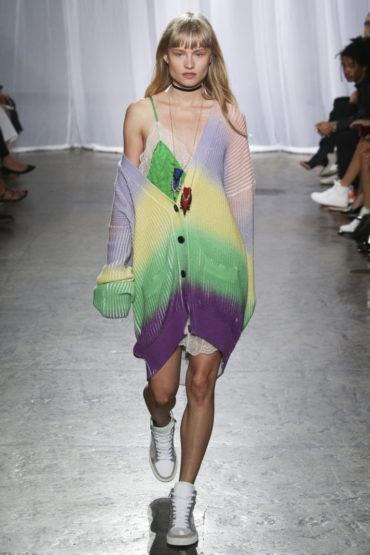 Zadig & Voltaire на Неделе Моды в Нью-Йорке: феерия цвета
