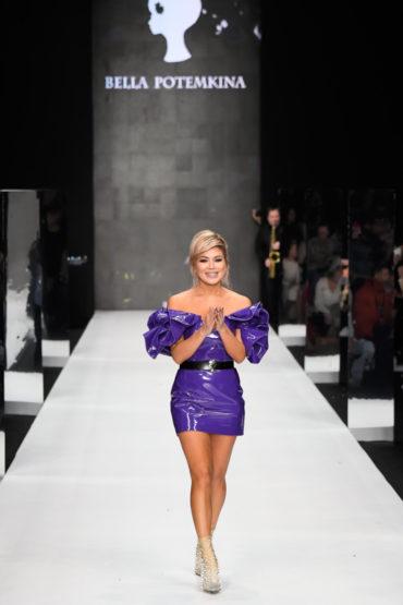 В фиолетовых тонах: показ Bella Potemkina на MBFWR