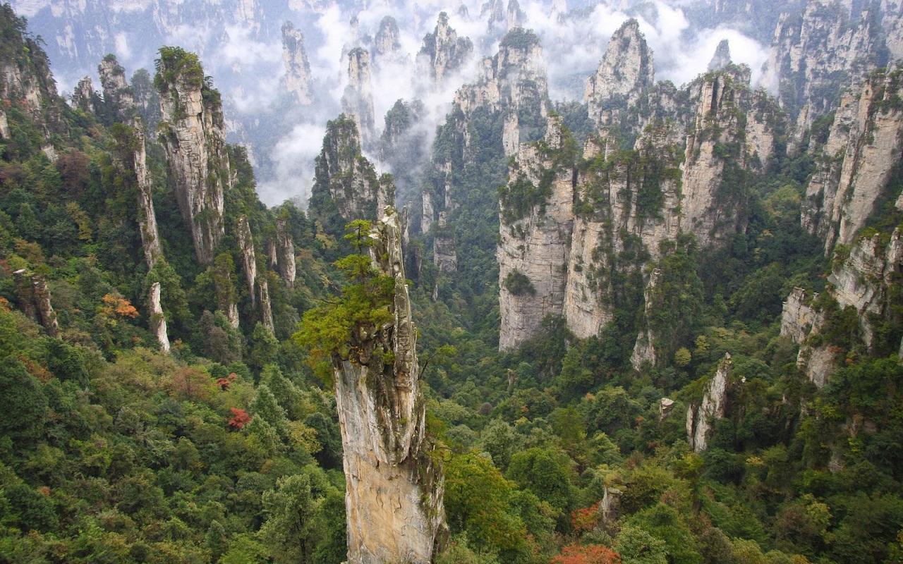 Парк «Чжанцзяцзе», Китай