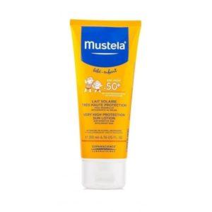 Mustela молочко солнцезащитное