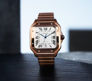 Новая модель Santos de Cartier: идеальный подарок для любимого мужчины