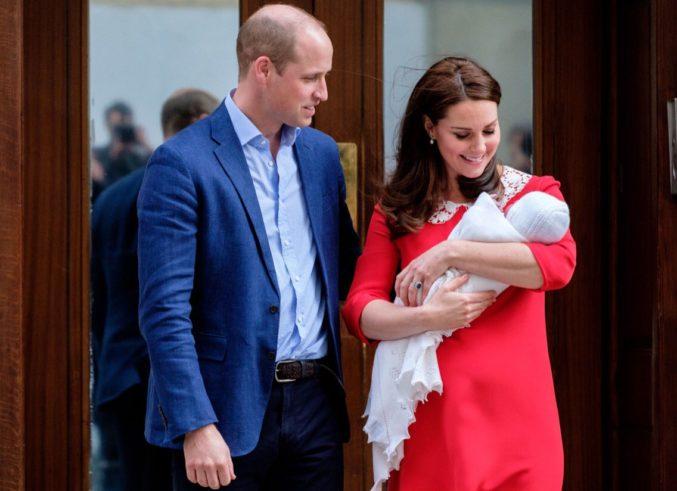 Как Кейт Миддлтон назвала своего третьего ребенка?