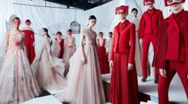 Коллекция Dior для Китая: total red