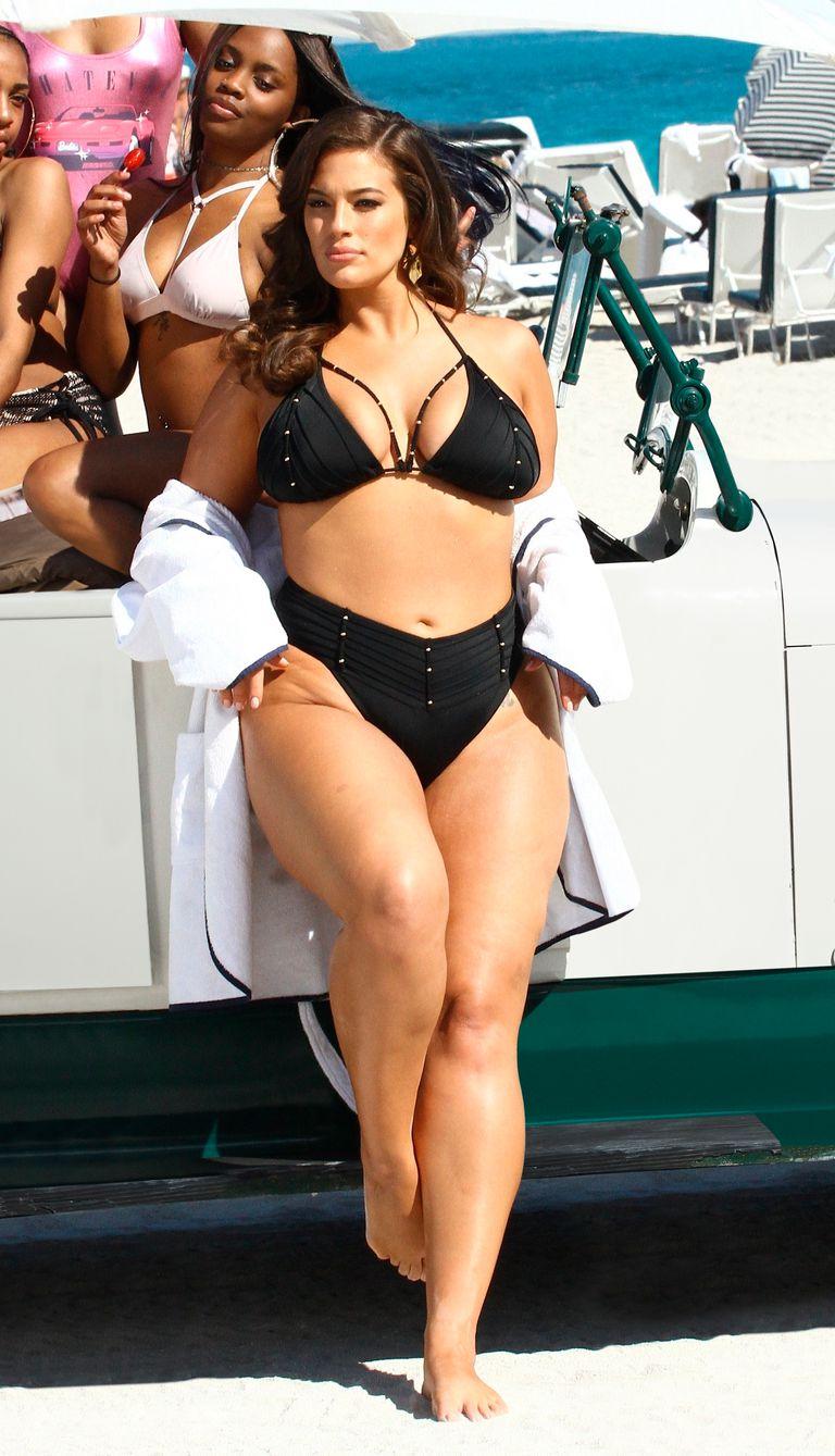 Эшли Грэм, модель plus-size