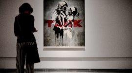 Выставка работ Бэнкси в ЦДХ
