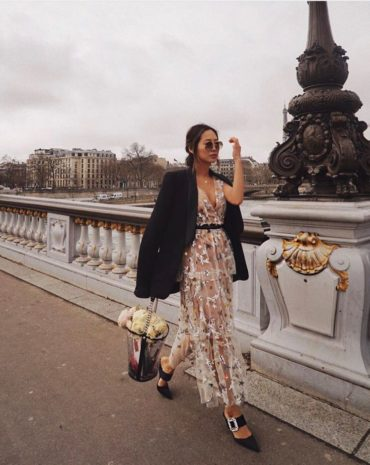 Вдохновение от fashion-блогера Alimee Song