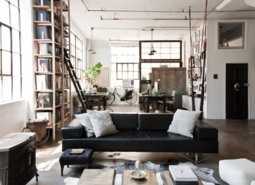 Лофт: из фабричных помещений в жилые квартиры