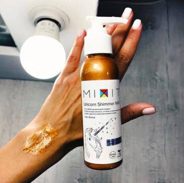 Блестящий обман от Mixit? Unicorn Shimmer Oil