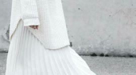 Плиссированные юбки снова в тренде?
