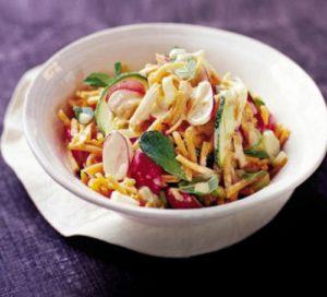 Индийский летний салат
