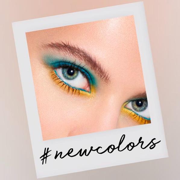 Inglot rainbow eyeshadows