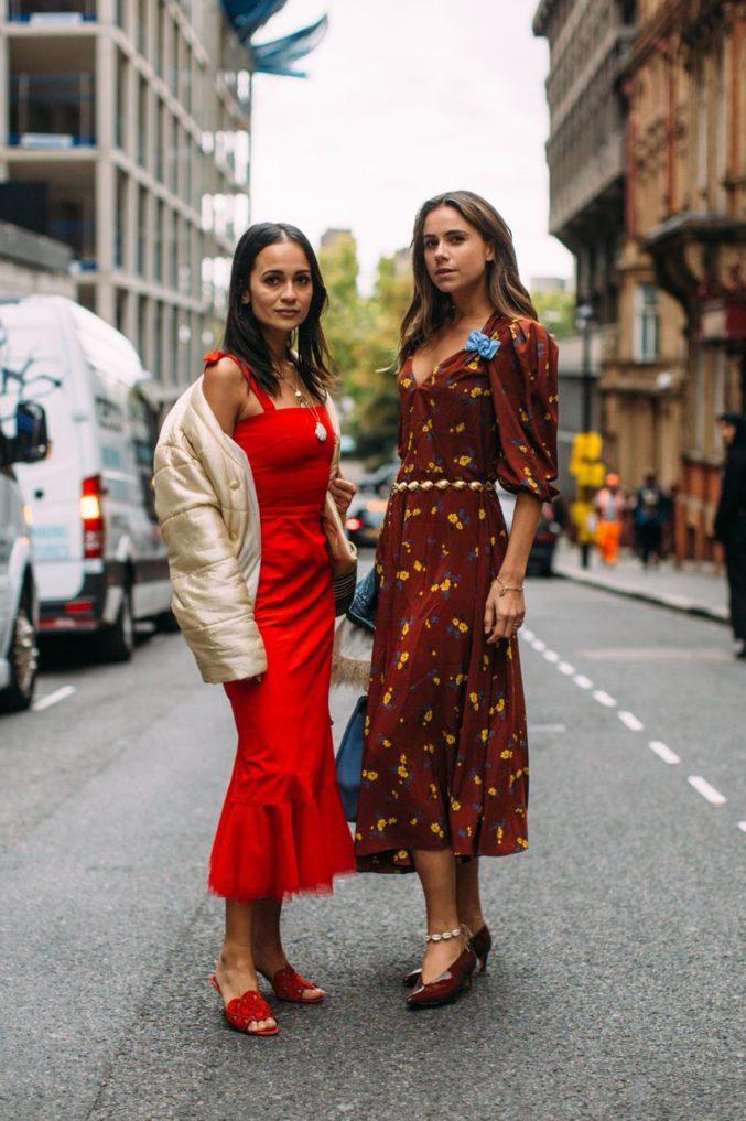 Палитра недели моды в Лондоне