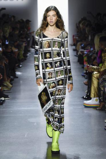Показ Jeremy Scott на Неделе моды в Нью-Йорке