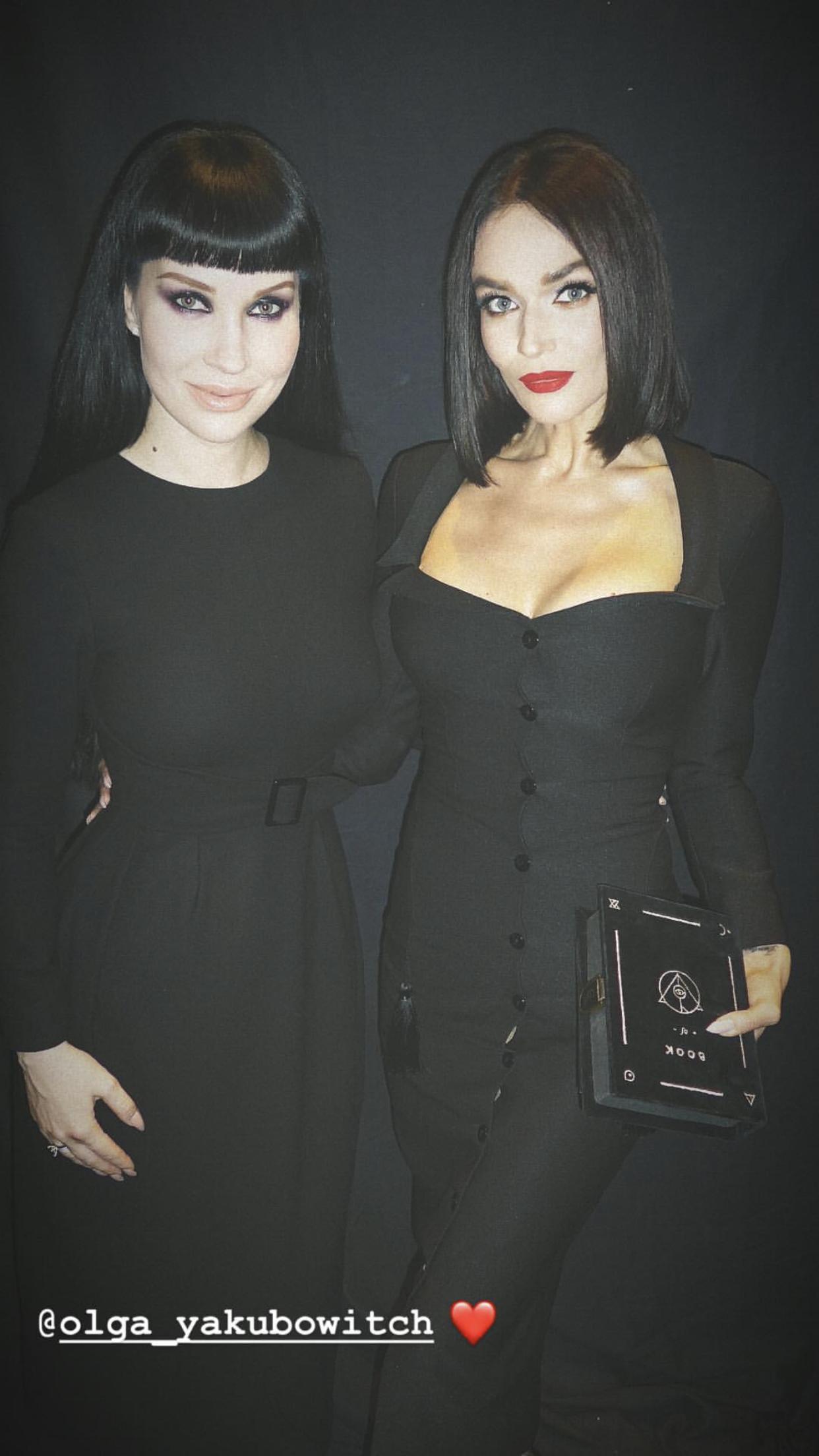 Ольга Якубович и Алена Водонаева