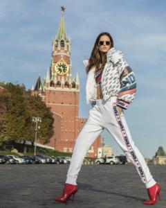 Изабель Гуларт в Москве