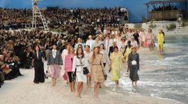 Под шум волн: новая коллекция Chanel