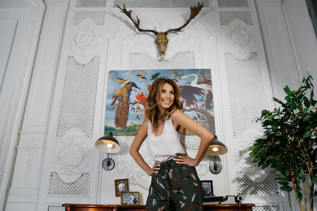 Полина Кирова, телеведущая, бизнес-леди