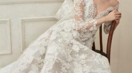 Oscar de la Renta представили новую коллекцию свадебных платьев