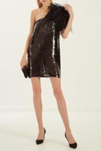 NO.21 платье с перьями