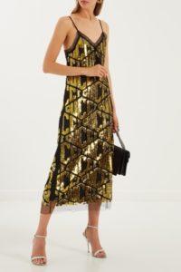платье с пайетками, Gucci