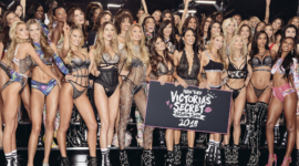 Сияние и блеск — макияж на показе Victoria's Secret