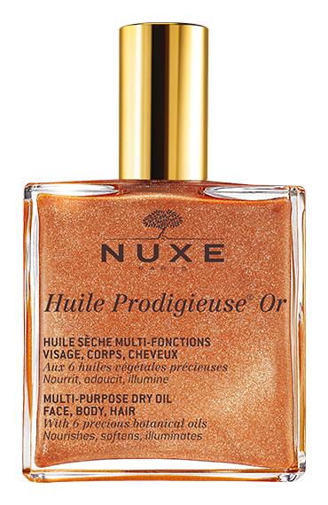 Nuxe Золотое масло для лица, тела и волос