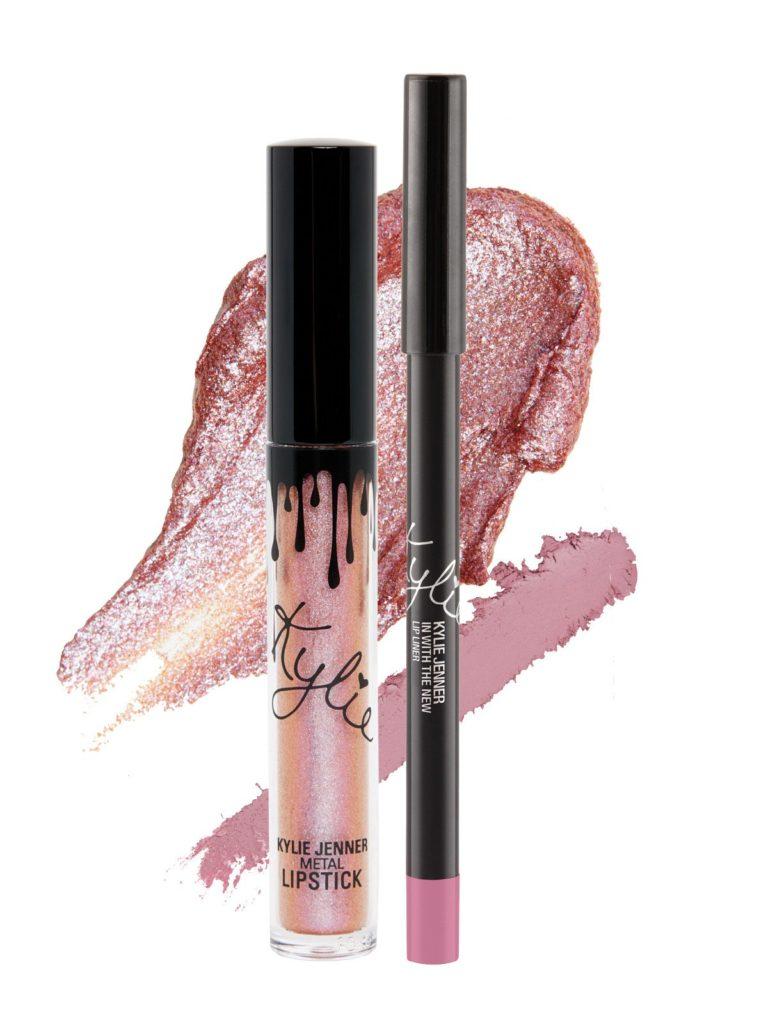 Kylie Cosmetics, металлический блеск для губ