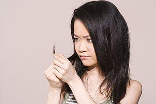 Травмированные волосы, секущиеся кончики