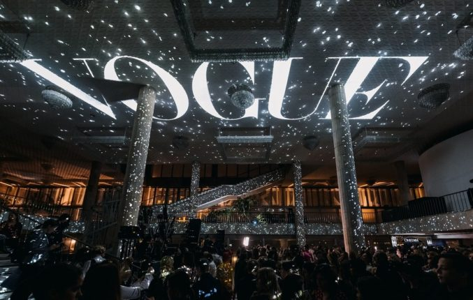 Анастасия Задорина и амбассадоры Zasport на дне рождения Vogue Russia