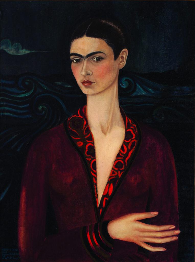 Фрида Кало, Автопортрет в вельветовом платье