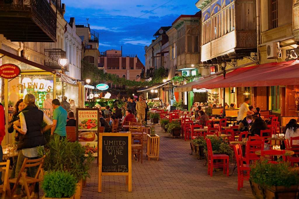 улица Шардени, Тбилиси, Грузия