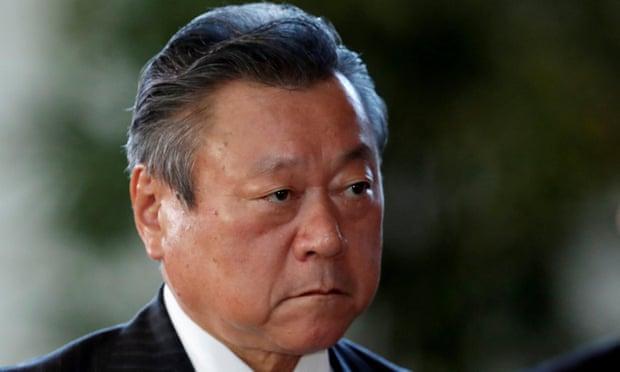 Ёситака Сакурада, министр Японии по кибербезопасности