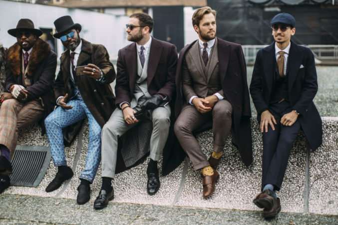 Pitti Uomo 2019 в фотографиях Streetstyle