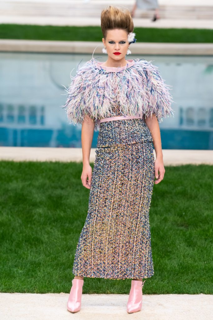 платье Chanel couture
